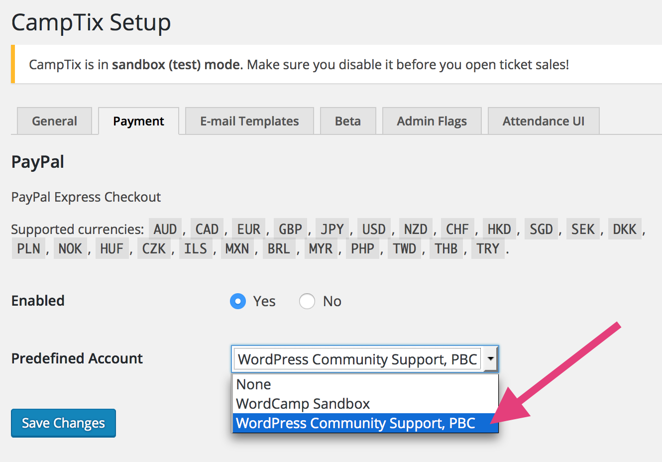 Running the money through WordPress Community Support, PBC
