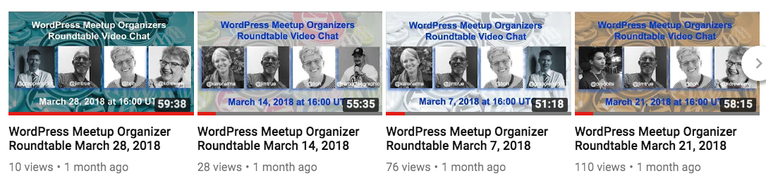 Report on the March Meetup Organizers Roundtable Experiment