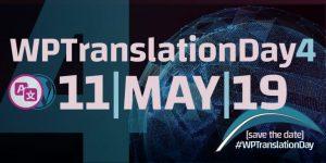 WordPress Translation Day 11 May 2019