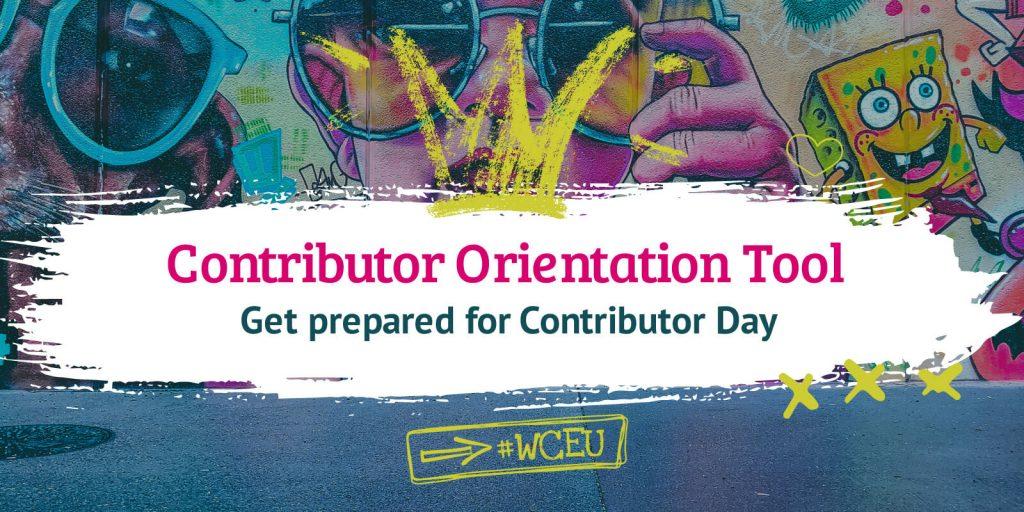 Contributor Orientation Tool