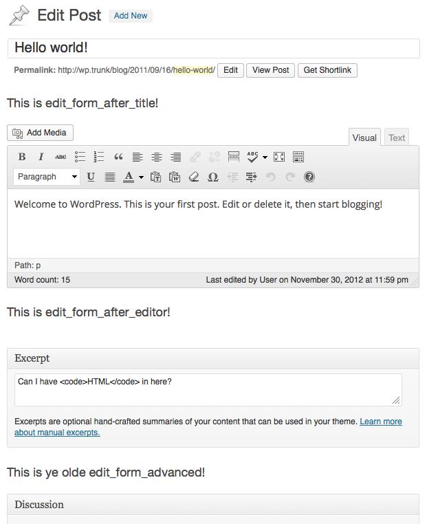 Edit Form Hooks in 3.5