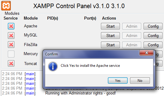 Installing XAMPP – Make WordPress Core