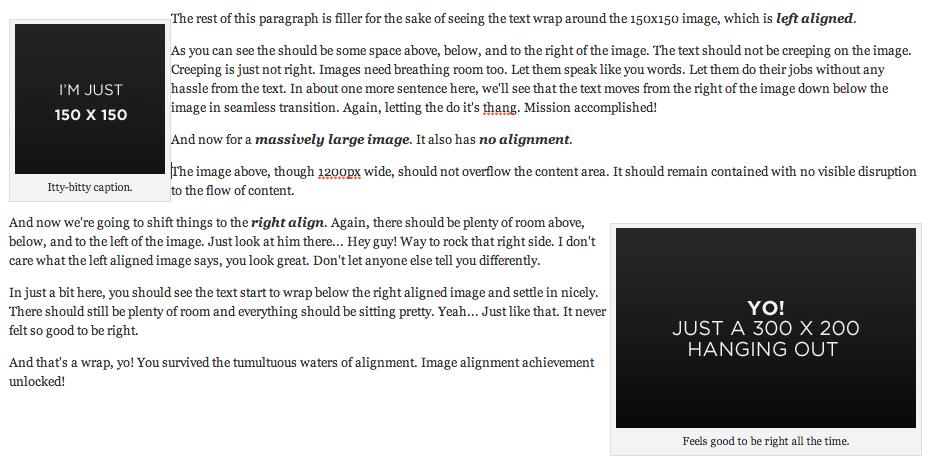 HTML4 captions