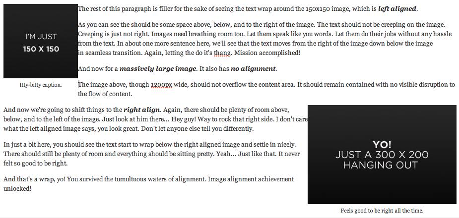 HTML5 captions