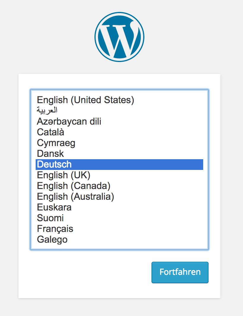 Language Chooser in WordPress 4.0