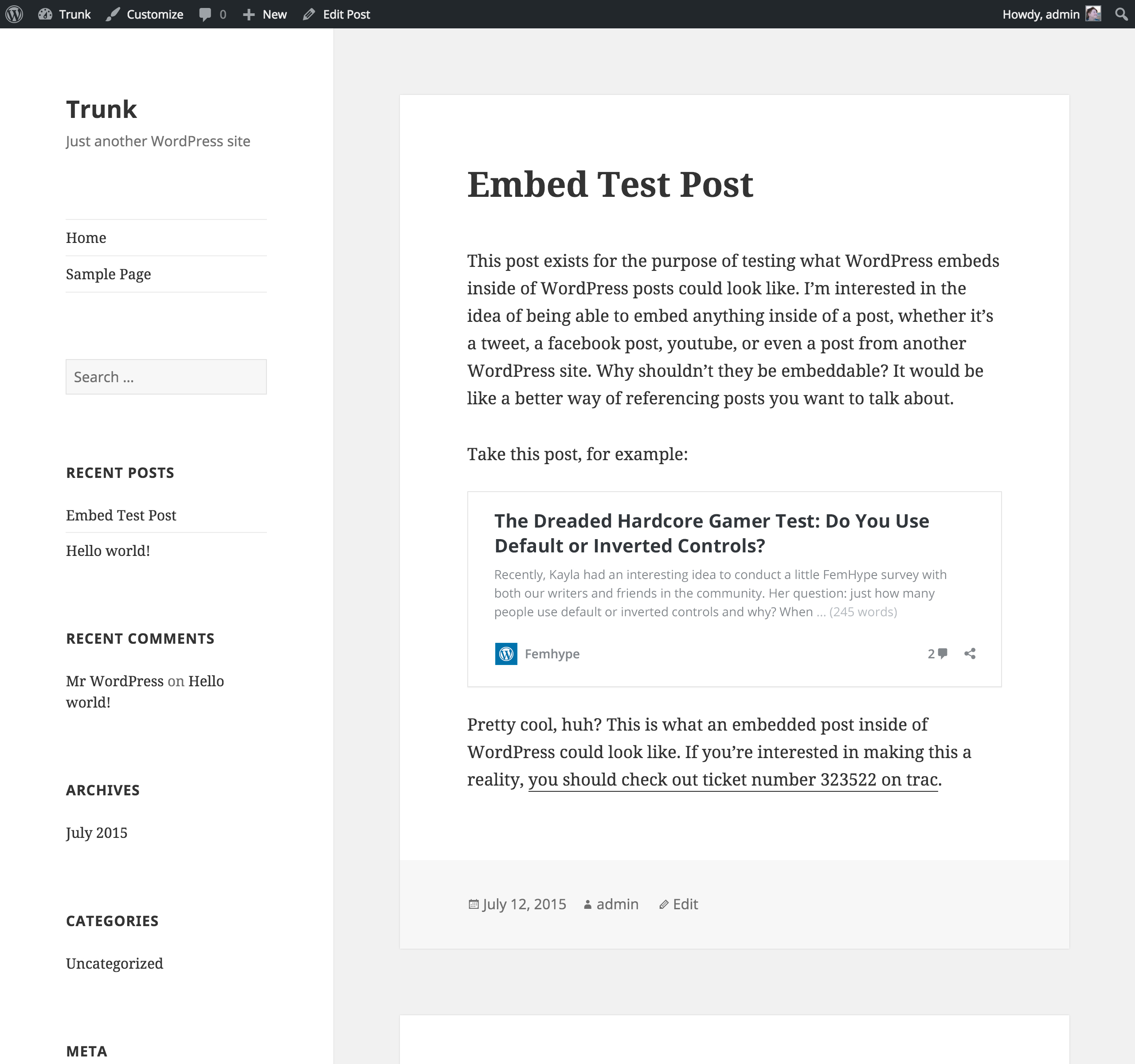 worksheet There Their And They Re Worksheets kicking off the oembed feature plugin make wordpress core embed test 1 noquote