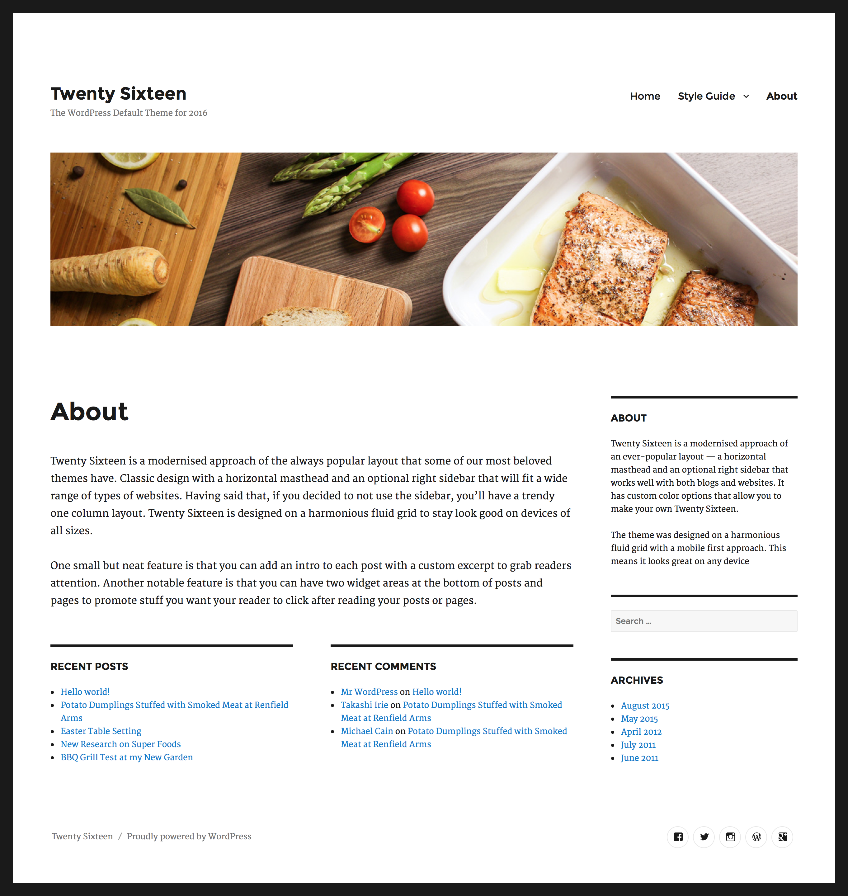 Miscellaneous Thesis Theme Design Options
