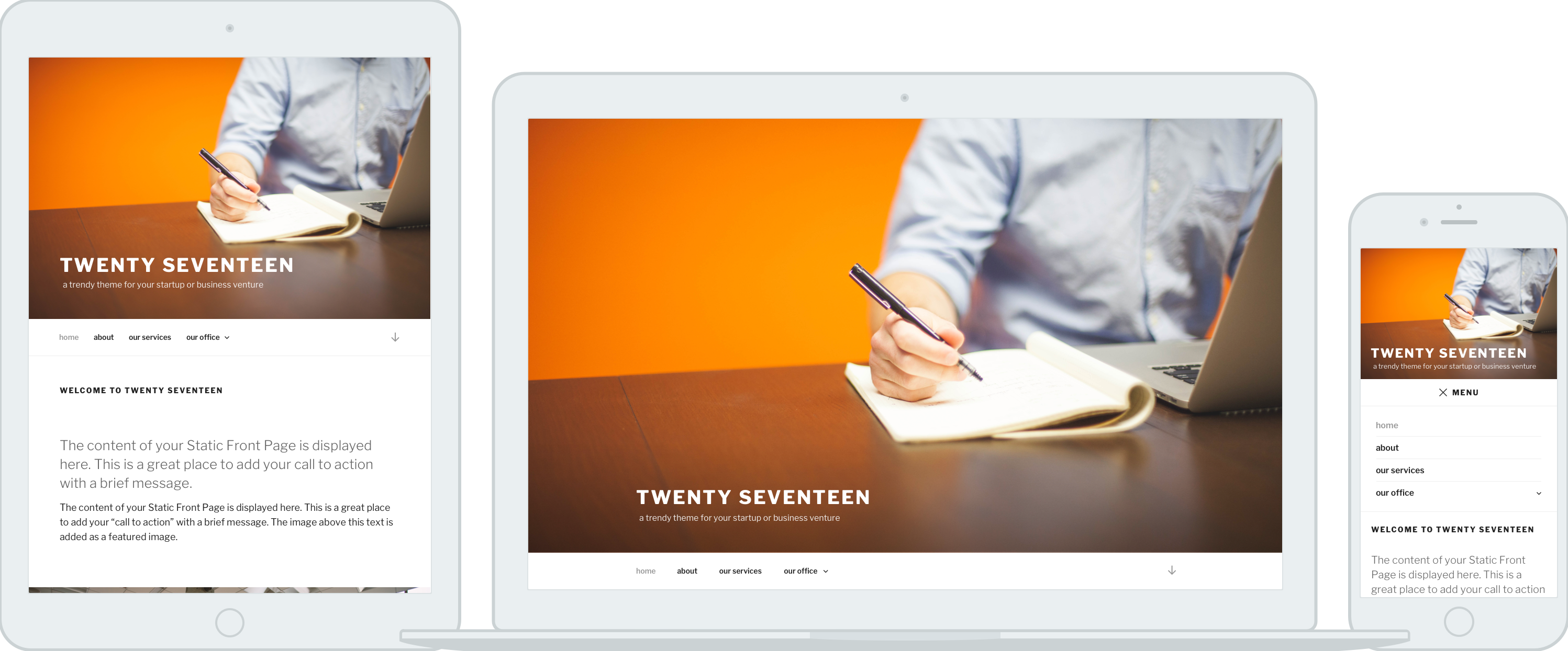 say hello to twenty seventeen make wordpress core