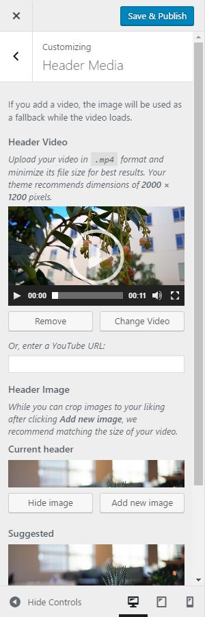 Video Headers in 4 7 – Make WordPress Core