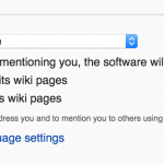 Wikipedia Internationalization Settings