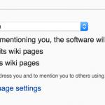 Wikipedia Internationalization Settings