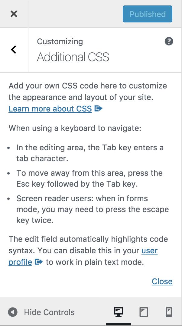 Code Editing Improvements in WordPress 4 9 – Make WordPress Core