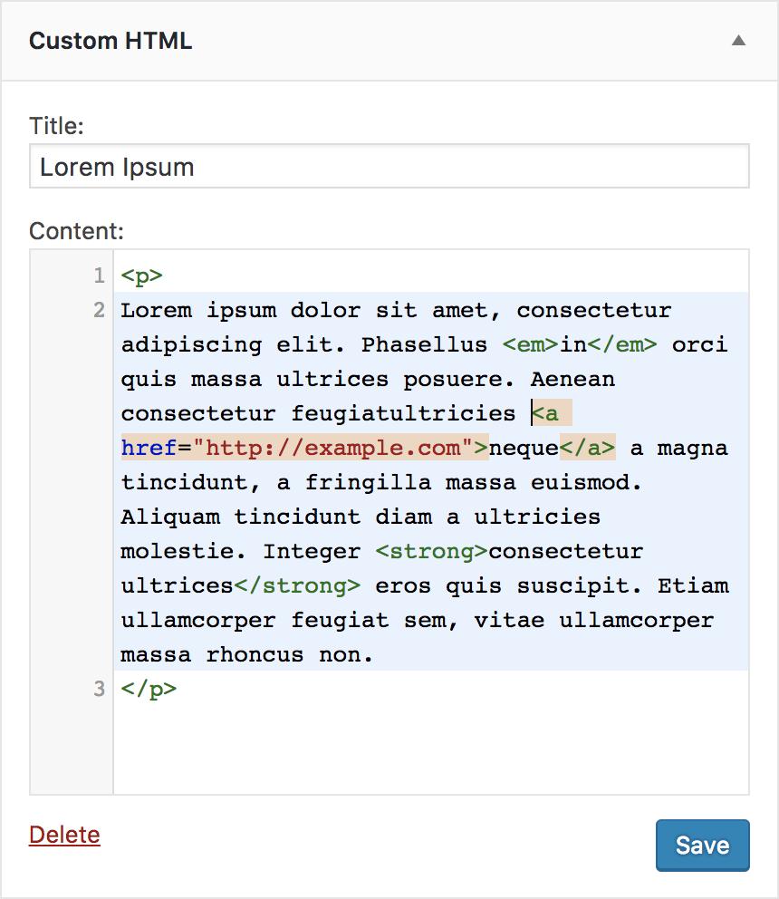 Code Editing Improvements in WordPress 4.9 – Make WordPress Core