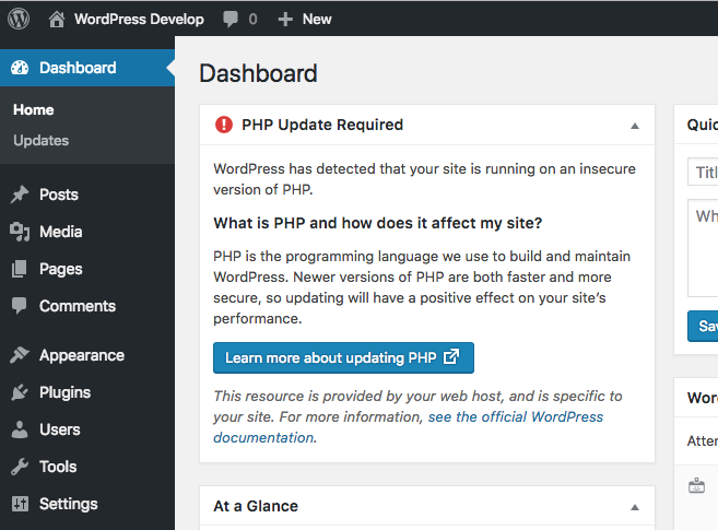 Php Site Health Mechanisms In 5 1 Make Wordpress Core