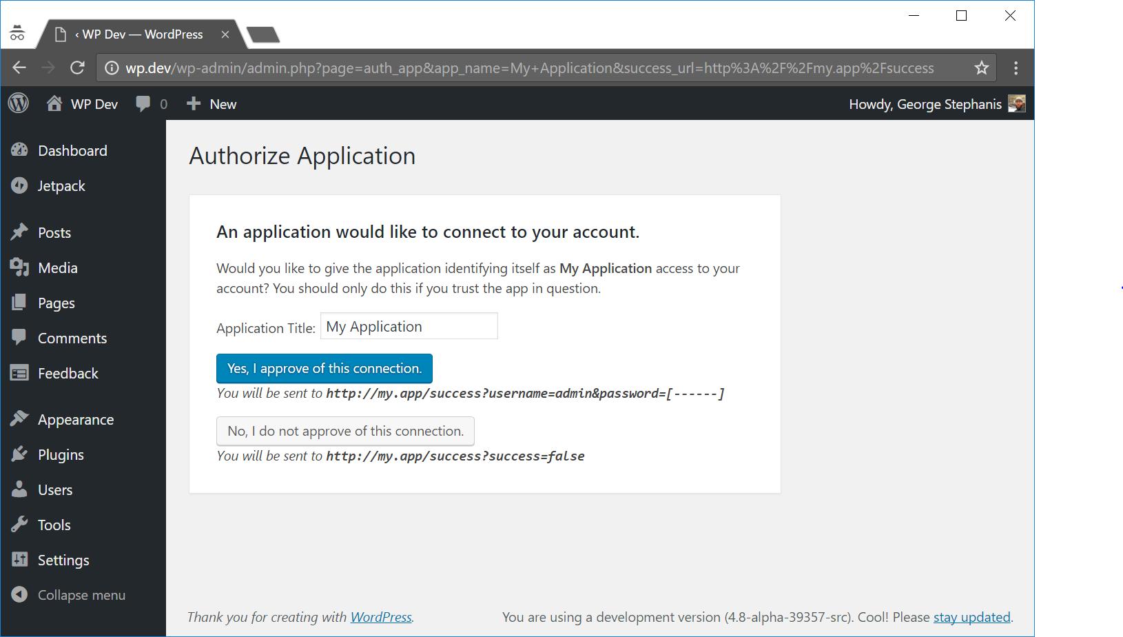 Proposal: REST API Authentication / Application Passwords - RapidAPI