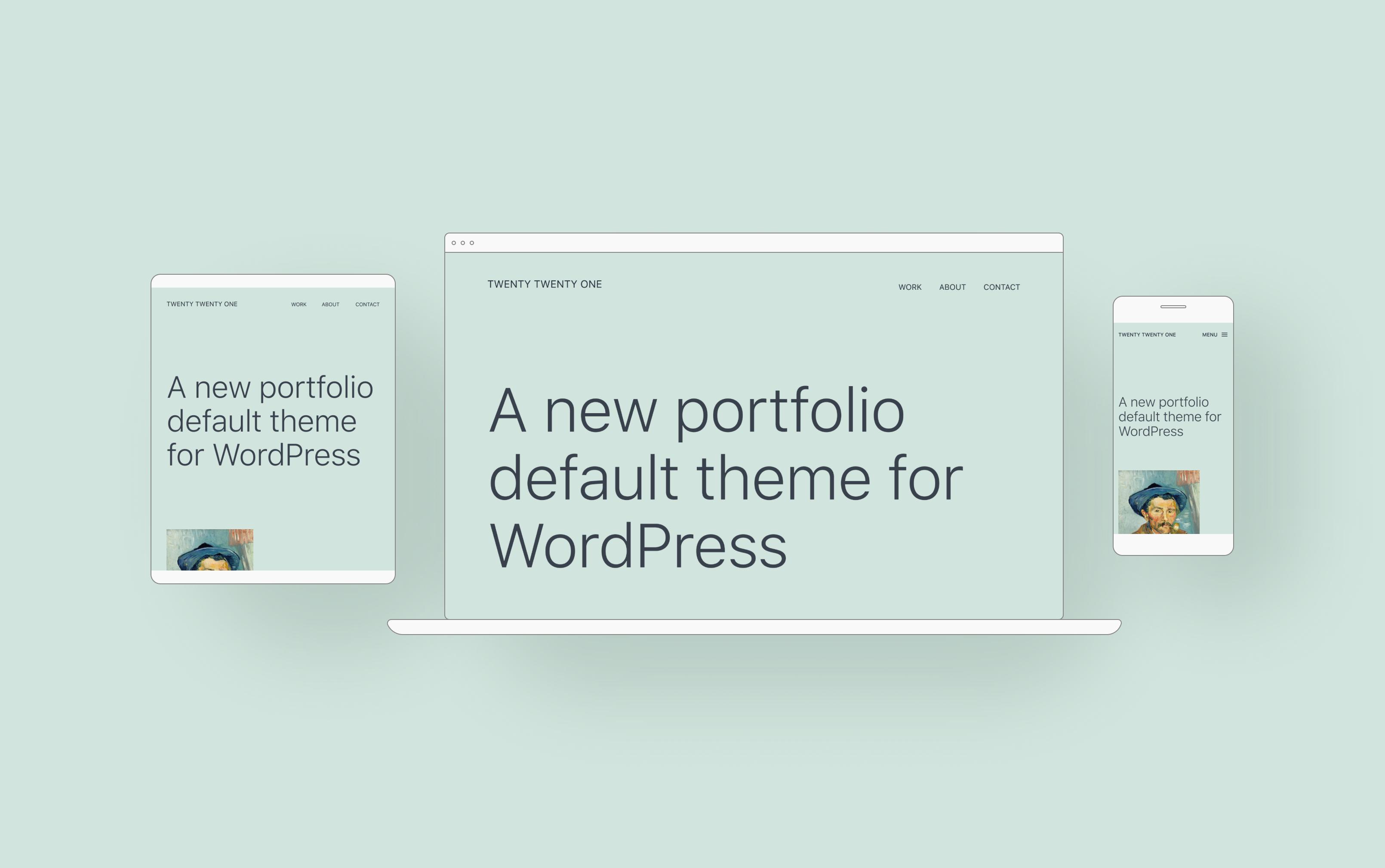 Basic WordPress themes – Twenty Twenty-One