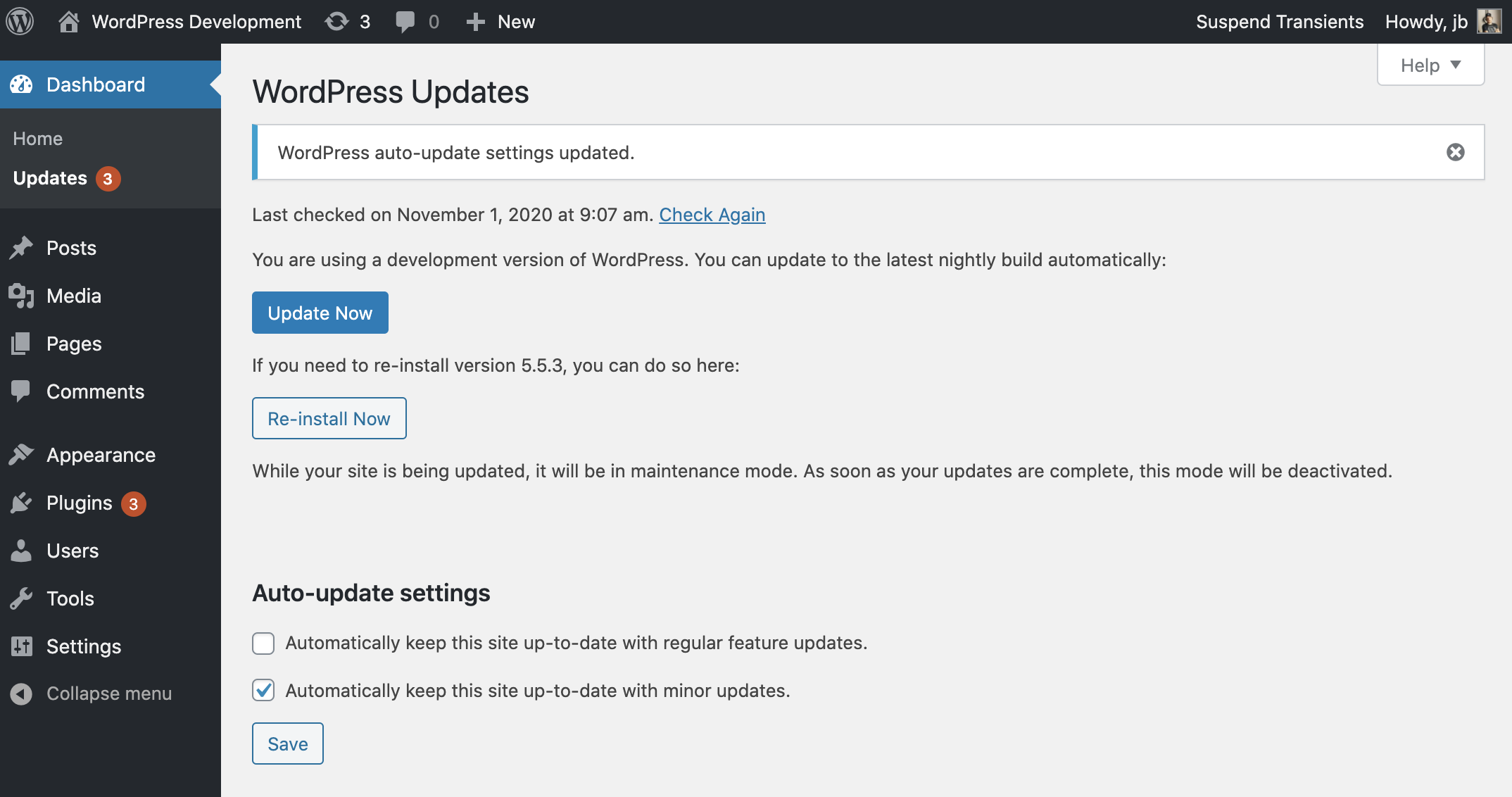 Introducing auto updates interface for Core major versions in ...