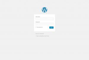 wordpress.org-login