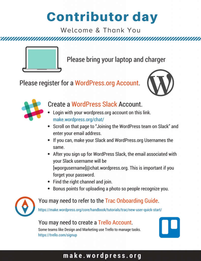Make WordPress org Marketing – Welcome to the official blog