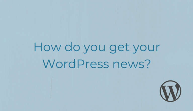 This WordPress News Survey is a great opportunity for you to provide your feedback about how you view and source news and updates related to WordPress.