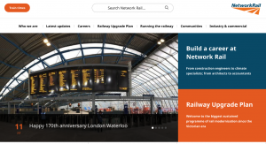 Network Rail A WordPress Case Study, submitted by Wholegrain Digital, a London based Web Design Company.