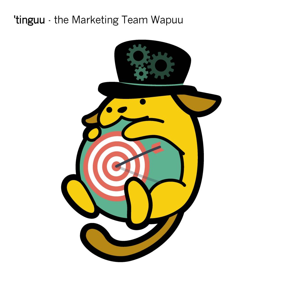 'Tinguu - The Marketing Team Wapuu