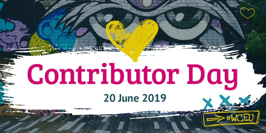 WordCamp Europe Contribution Day 2019