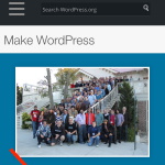 In an app with text/URLs, select the sharing icon and choose WordPress as the sharing target