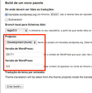 Versões pt_PT ‹ Portugal — WordPress
