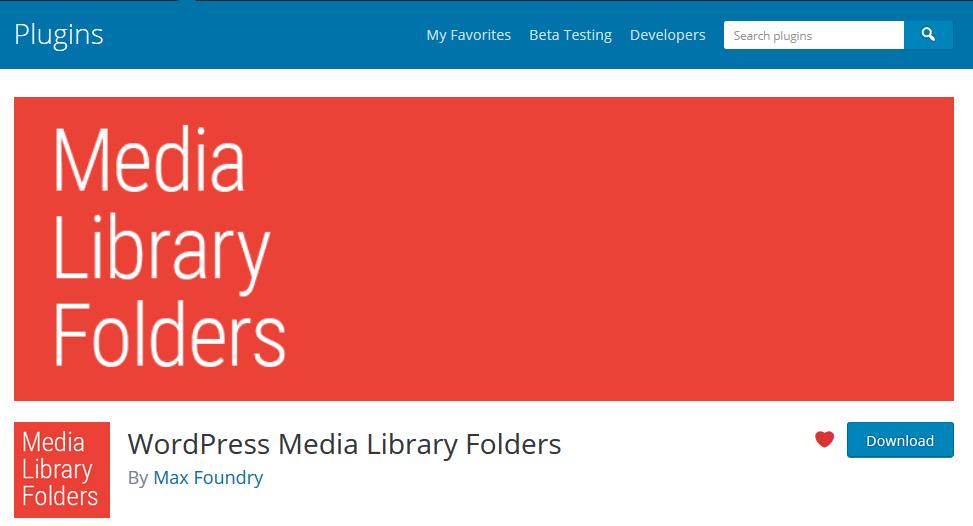 Plugin page on WordPress.org.
