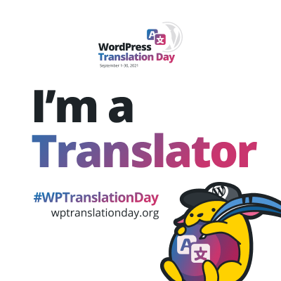 I'm a translator badge