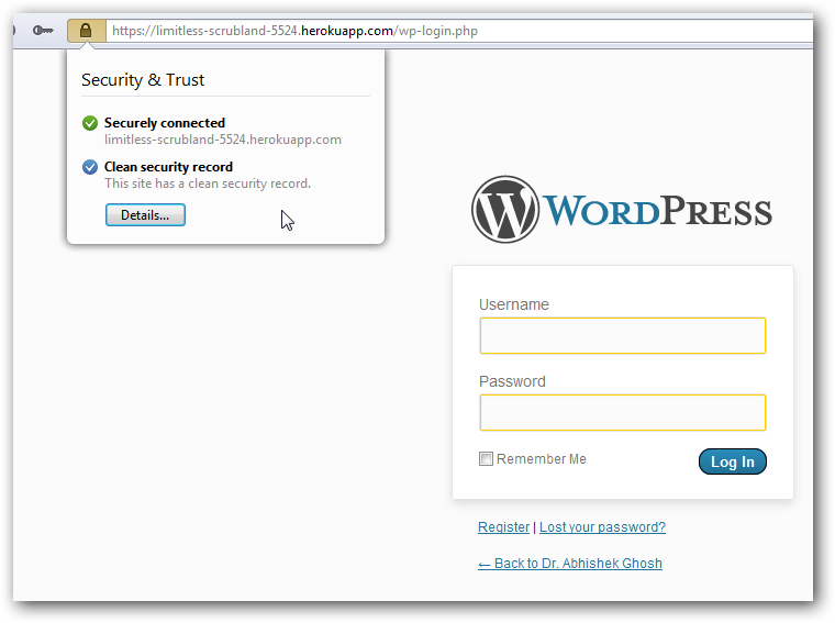 HTTPS for WordPress