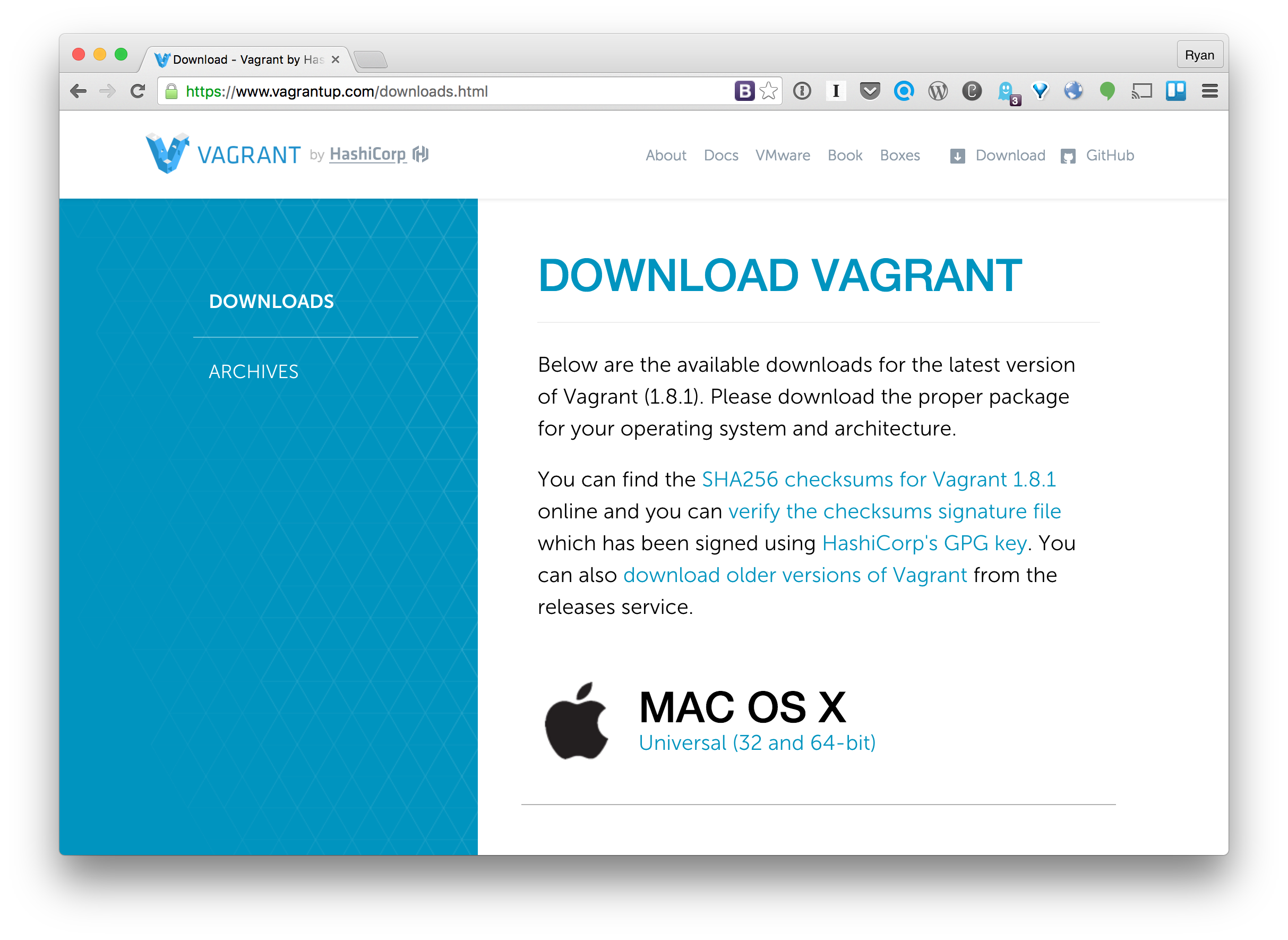 Testing patches with VVV on Mac OS – Make WordPress Test