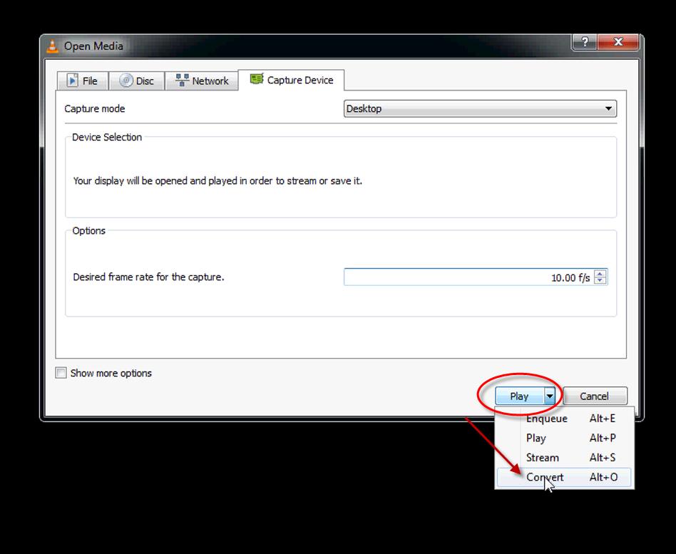 VLC Screen Capture – Make WordPress.tv