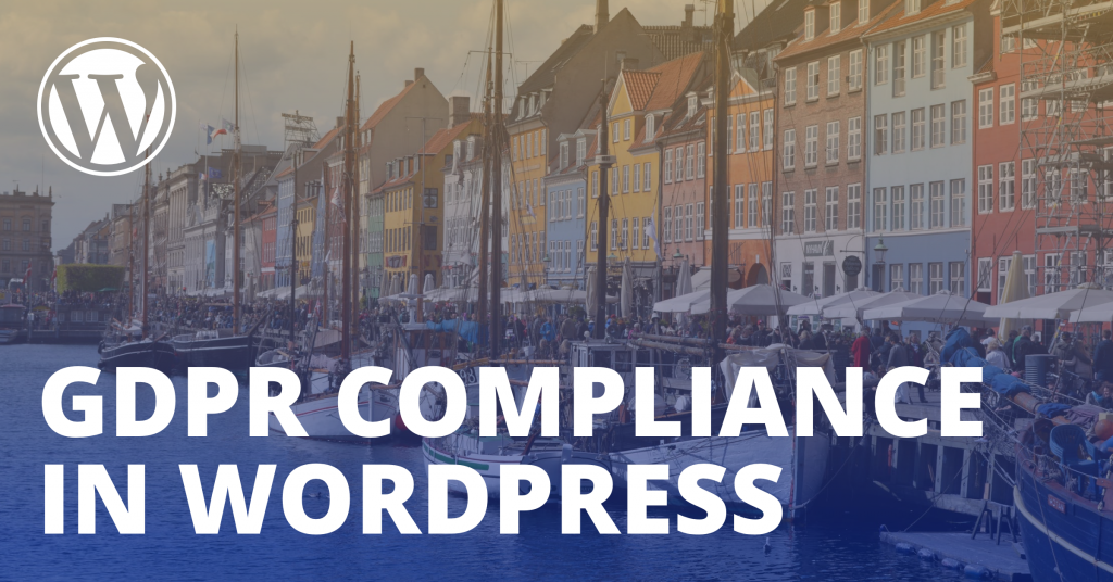 GDPR WordPress complian